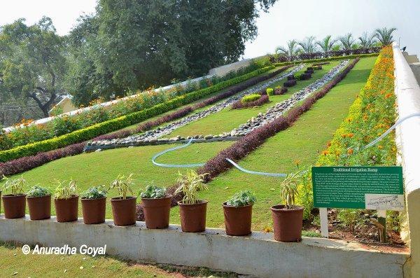 Slanting Garden at Rashtrapati Nilayam