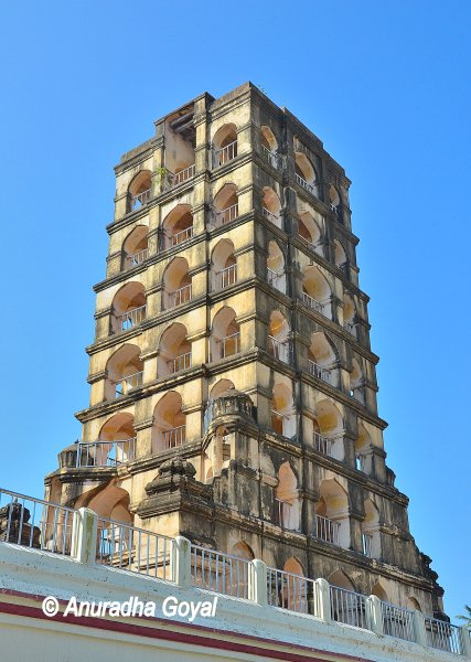 Bell Tower at the Entrance of Maratha Palace Tanjore
