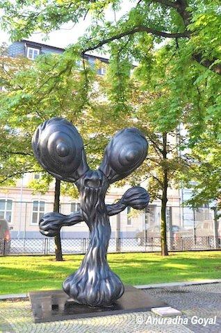 Modern Art installation at Bratislava
