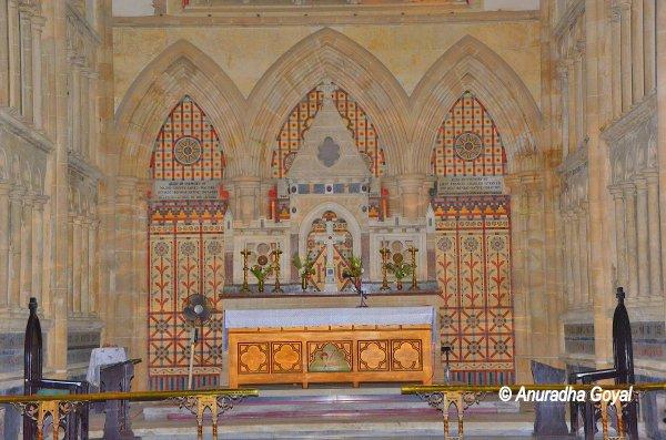Altar at Afghan Church, Colaba, Mumbai