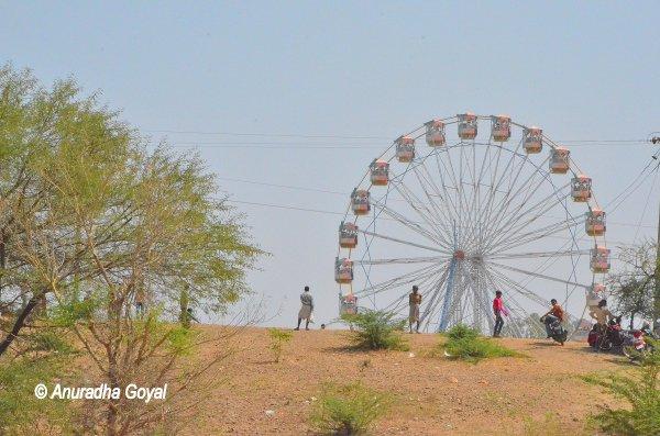 Giant Wheel at Jhabua