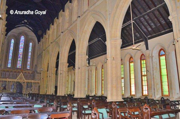 Inside Afghan Church, Colaba, Mumbai