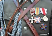 Medals of a World War II Soldier
