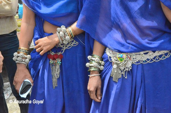 Silver Jewelry at Bhagoria Haat, Vaalpur