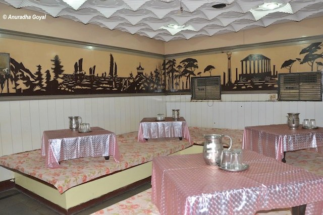 Dining area of the hotel