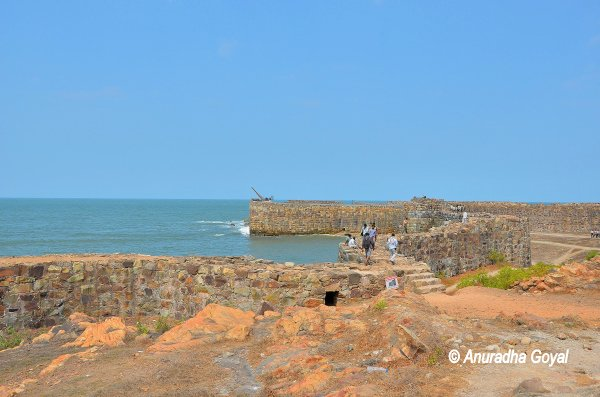 Sindhudurg Fort a fortress in the sea