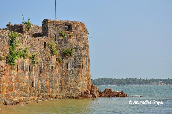 Sindhudurg Fort, Konkan, Maharashtra - Incredible fort built in sea