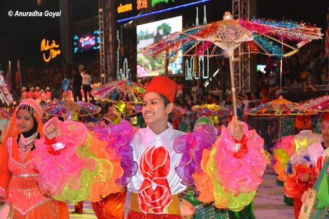 Celebrations at Colors of 1Malaysia Festival