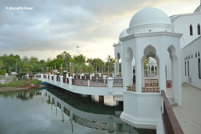 A closer look at Floating Mosque Terengganu