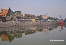 Nasik on the banks of Godavari river