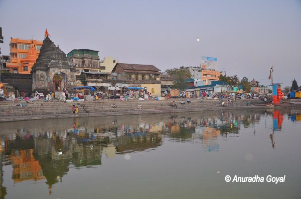 Nasik on the banks of Godavari river
