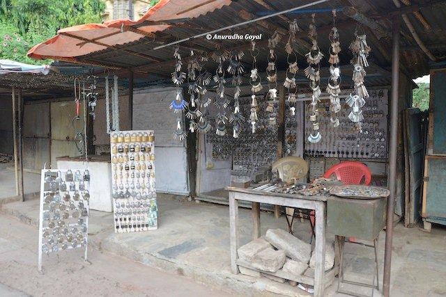 Lock & Key Shop, on way to Purana Pul