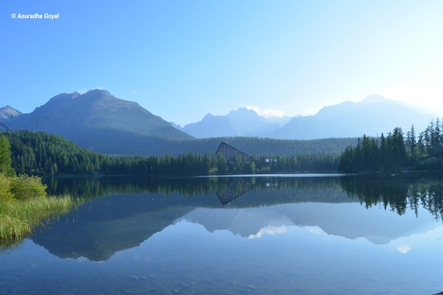 Strbske Pleso Lake, Slovakia Tourist Attraction