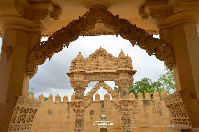 Gates and Arches of Lodurva Jain Temple