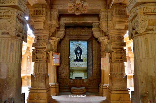 Lord Parshvnath Idol at Lodurva Jain Temple