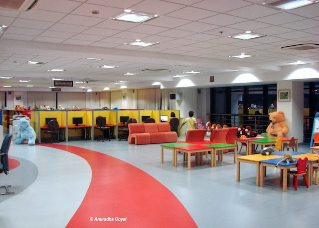 Children area in the Panaji Public Library