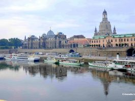 Dresden by the River Elbe