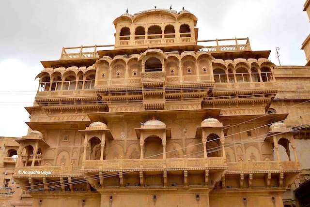 Palace inside the Jaisalmer Fort
