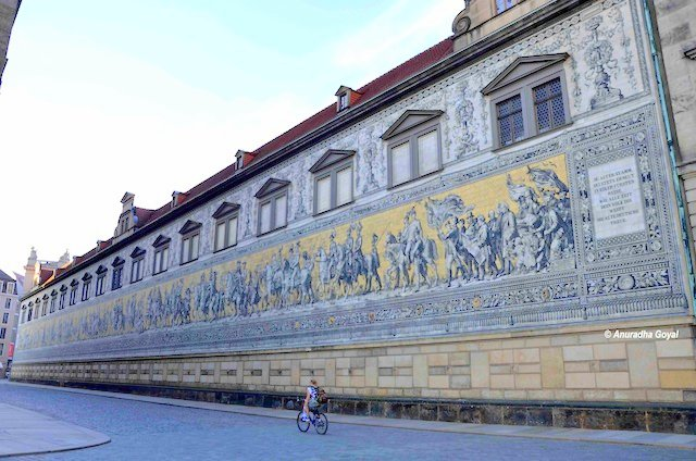 Procession of the Princes - mega Wall Mural in Dresden