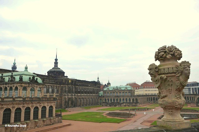 Zwinger palace Dresden