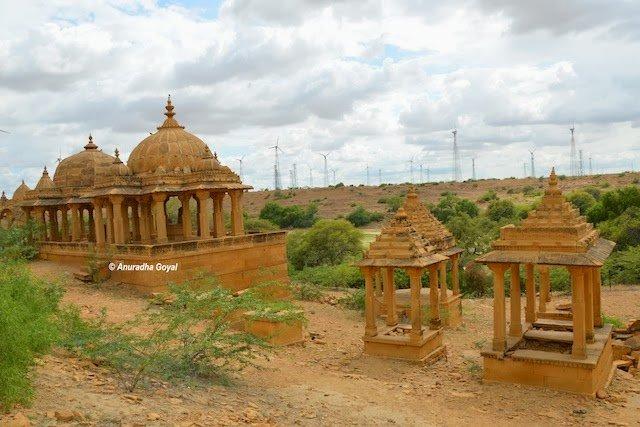 Bada Bagh landscape, Jaisalmer