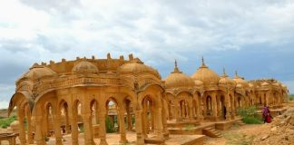 Royal Cenotaphs at Bada Bagh, Jaisalmer