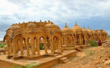 Royal Cenotaphs at Bada Bagh, Jaisalmer