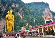 Giant Idol of Murugan at Batu Caves