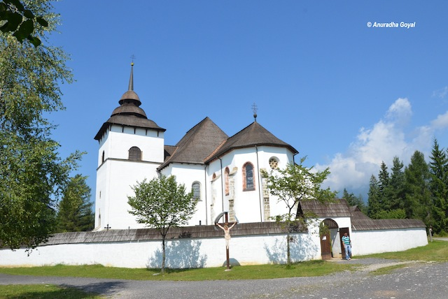 Heritage Castle at Liptov village in Pribylina