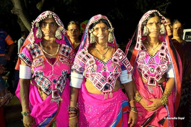 Tribal Women participating in the cultural event