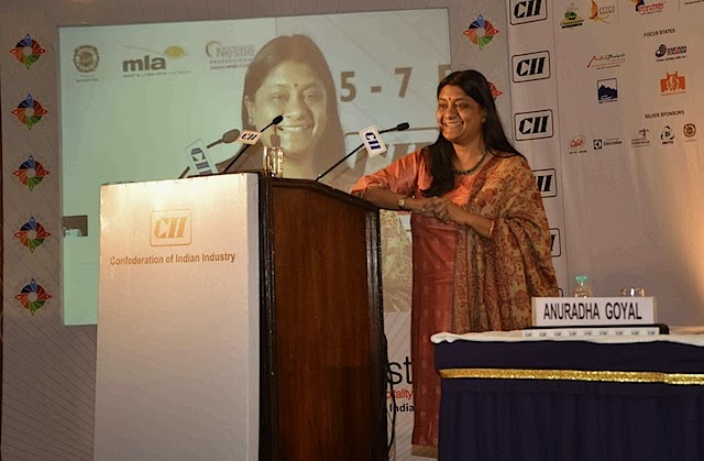 Me speaking at the Tourism Fest 2013, Chandigarh