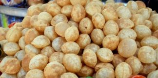 Pani Puri that India loves