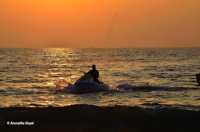 Jet Ski by the evening