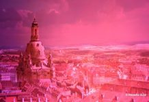 Panometer Dresden - Dramatic re-creation of Dresden of 1756