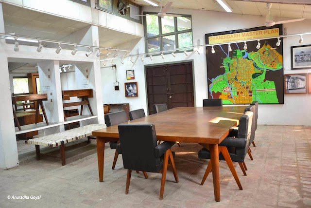 The room where Chandigarh city master plan was made