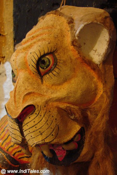Tiger Mask at Araku Tribal Museum