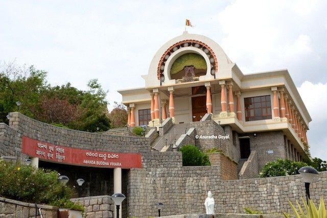 Ananda Buddha Vihara Temple atop Mahendra Hills