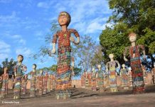 Broken Bangle Dolls at Rock Garden Chandigarh