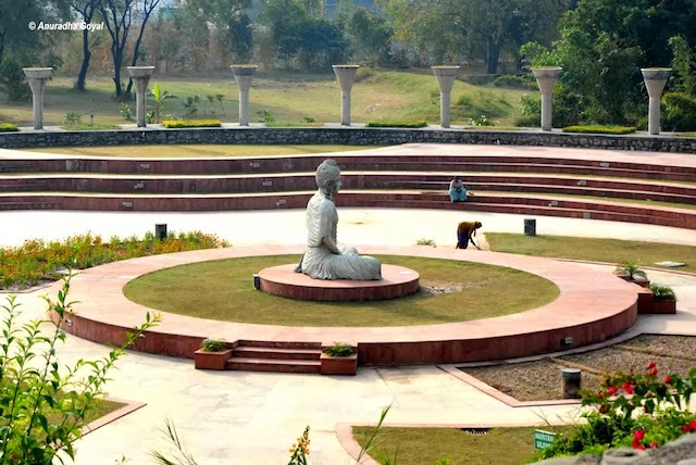 Garden of Silence at the campus