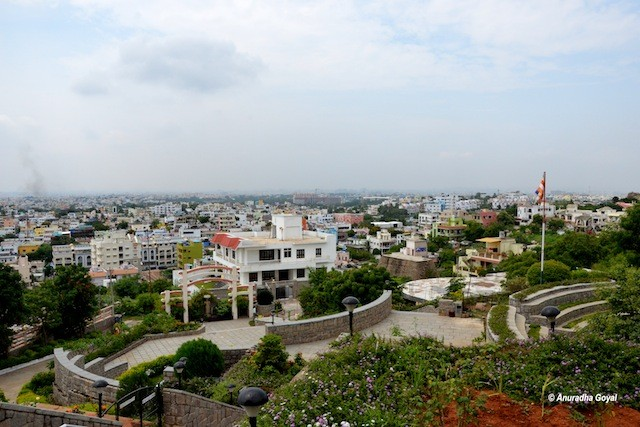 Landscape view from Mahendra Hills, Secunderabad