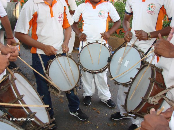 Drumming up the tempo for Shigmo festivities
