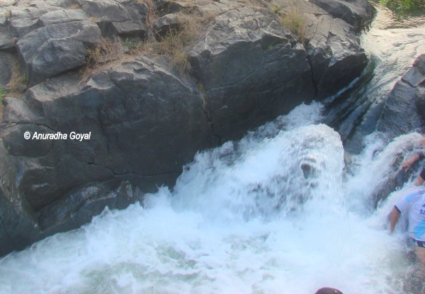 Must experience natural Jacuzzi by Kali river at Dandeli