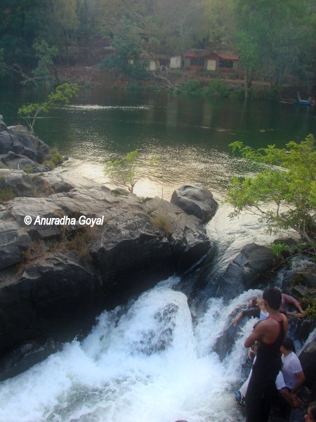 Awesome Natural Jacuzzi by Kali river at Dandeli