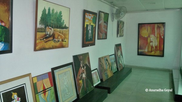 Paintings by inmates of Tihar Jail