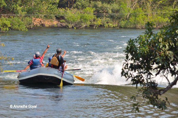 Dandeli River Rafting over Kali river