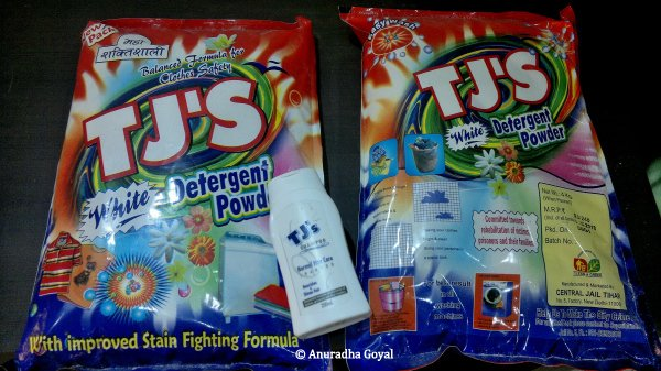 TJs Detergent Powder