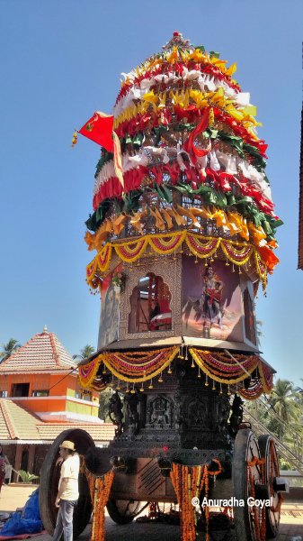 The decorated wooden Rath