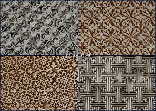 Beautiful Jaali Patterns at Paigah Tomb complex, Hyderabad