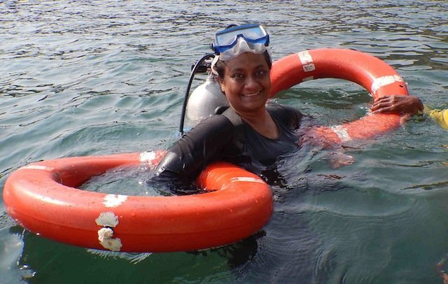 That's Me ready for Scuba Diving in Malvan