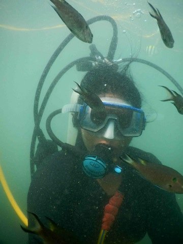 Me Scuba Diving in Malvan
